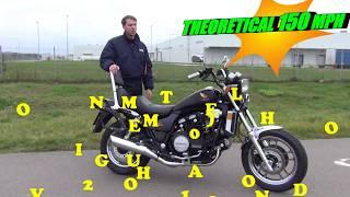 8. HONDA MAGNA V65 (VF1100) REVIEW