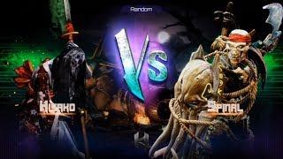 Killer Instinct - Fight 26 - Hisako(Holder) vs Spinal(Challenger)