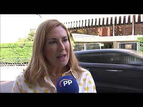 Ana Beltrán después de presentar un recurso contra...