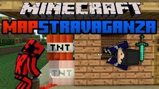 Minecraft Mapstravaganza! Inside the Tardis, 'Masterclass' Challenge and Island Fighting!