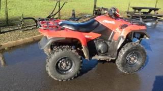 10. 08 Suzuki king quad 450