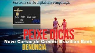 NÃO CAIA EM GOLPE, DENUNCIE!Link da postagem: https://m.facebook.com/story.php?story_fbid=1928244127390751&id=1510503032498198Tarifas cobradas pelo BB visa:Adesão do Cartão: R$ 34,90Custo de Recarga: R$3,25Carga mínima na aquisição: R$ 100,00Custo de envio: GRÁTISBoleto bancário R$ 3,00Pacote de serviços (mensal)*: R$ 7,00Saque nos caixas eletrônicos: R$ 9,25Manutenção: GRÁTISTransferência Conta Bancária (TED/DOC): R$ 9,80Substituição do Cartão: R$ 25,00★Inscreva-se clicando aqui: https://goo.gl/VQ6F4O★Siga Peixe Dicas no Facebook: https://goo.gl/2m41OD★Siga Peixe Dicas no Twitter: https://goo.gl/8jZY4c