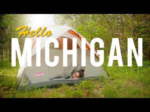 Michigan - Camping In The Mosquito Apocalypse!