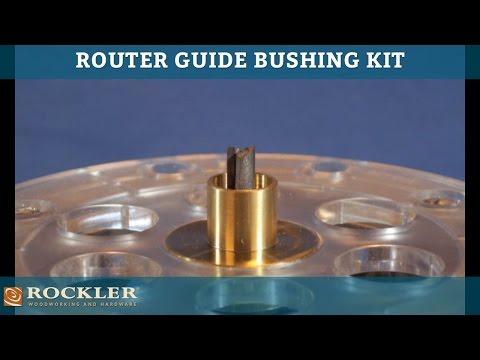 Router Guide Bushing Kit