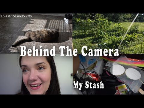 Not ASMR - Behind The Camera - My Stash Of Props, Vlog, Update