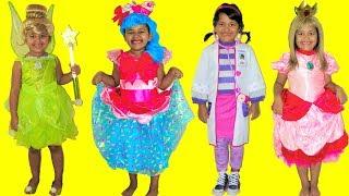 10 Halloween Costumes Disney Tinkerbell Princess Peach Jessicake Doc McStuffins Lambie