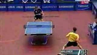 Timo Boll и Jan Ove Waldner 2002год