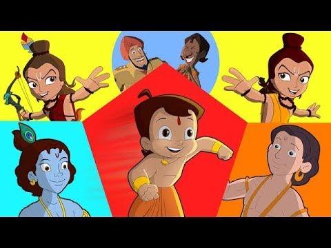 Video Hum Hain Super Heroes   Full Episodes Compilation 2 of Chhota Bheem, Krishna Balaram download in MP3, 3GP, MP4, WEBM, AVI, FLV January 2017