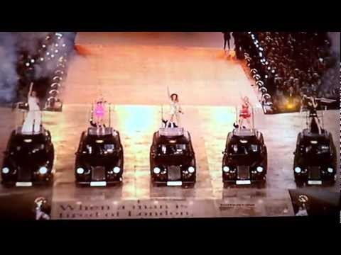 Spice Girls Live @ Olympics August 12, 2012