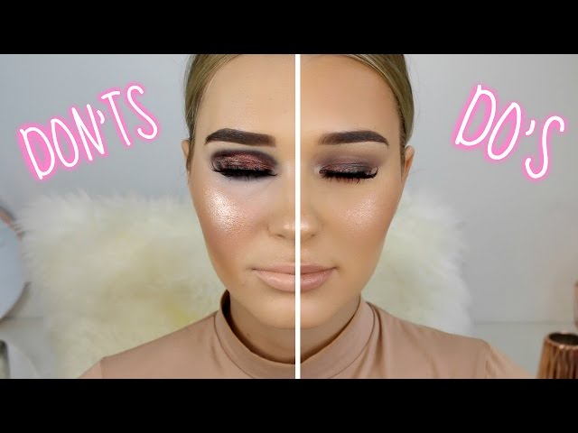 Makeup Mistakes To Avoid Dos Donts