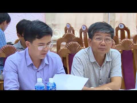 UBND tỉnh làm việc về xây dựng huyện đạt chuẩn NTM