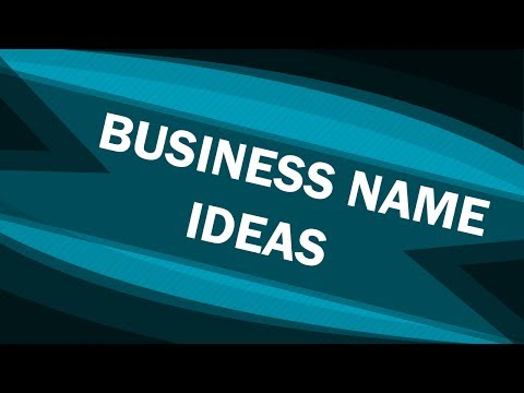 Business Name Ideas – Top Tips – Company Name Ideas