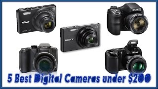 Video Exclusive Review of the 5 Best Digital Cameras under 200 Reviews | Best Point and Shoot Camera 2017 MP3, 3GP, MP4, WEBM, AVI, FLV Juli 2018