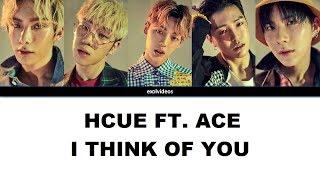 HCUE FT. ACE - I feel so lucky [ENGLISH LYRICS/INCL. NAMES]