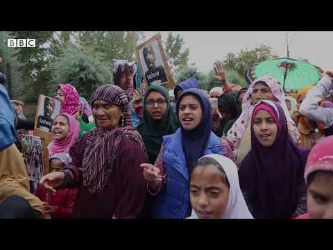 Protest in Soura, Srinagar
