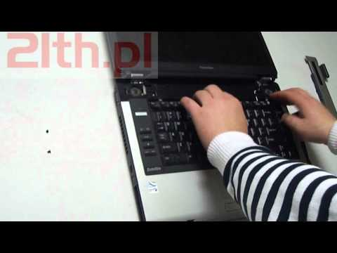 How To Remove Or Replace Keyboard In Notebook Toshiba A100 A105