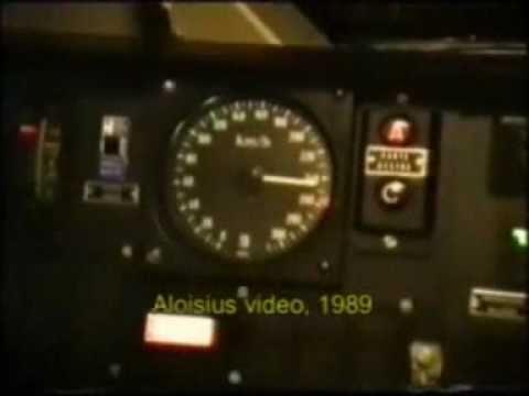 Cabina Pendolino ETR 450 no stop Milano-Roma 1989 -n 2