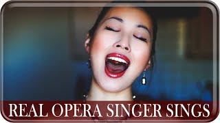 "Video REAL OPERA SINGER SINGS: ""Never Enough"" from The Greatest Showman 