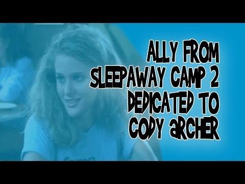 Not-Quite-Final Girl #3:  Ally From Sleepaway Camp 2