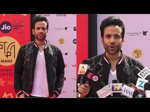 Tusshar Kapoor At Jio Mami Movie Mela