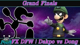 Dakpo (G&W) vs Dong (Luigi) a.k.a. Luigi's Up-B: The Set