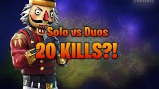 OMG😱...20 Kills Runde *GECHOKED* Solo vs Duos... #apokalypto #vsk #official #tfue #fortnite