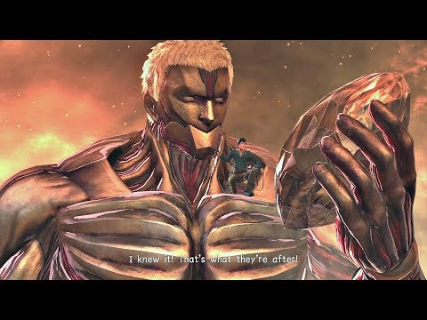 ATTACK ON TITAN 2 - Secret Final Boss & TRUE ENDING (SEASON 3 ENDING) PS4 PRO