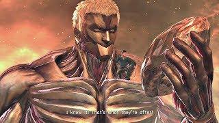 ATTACK ON TITAN 2 - Secret Final Boss & TRUE ENDING (SEASON 3 ENDING) PS4 PRO