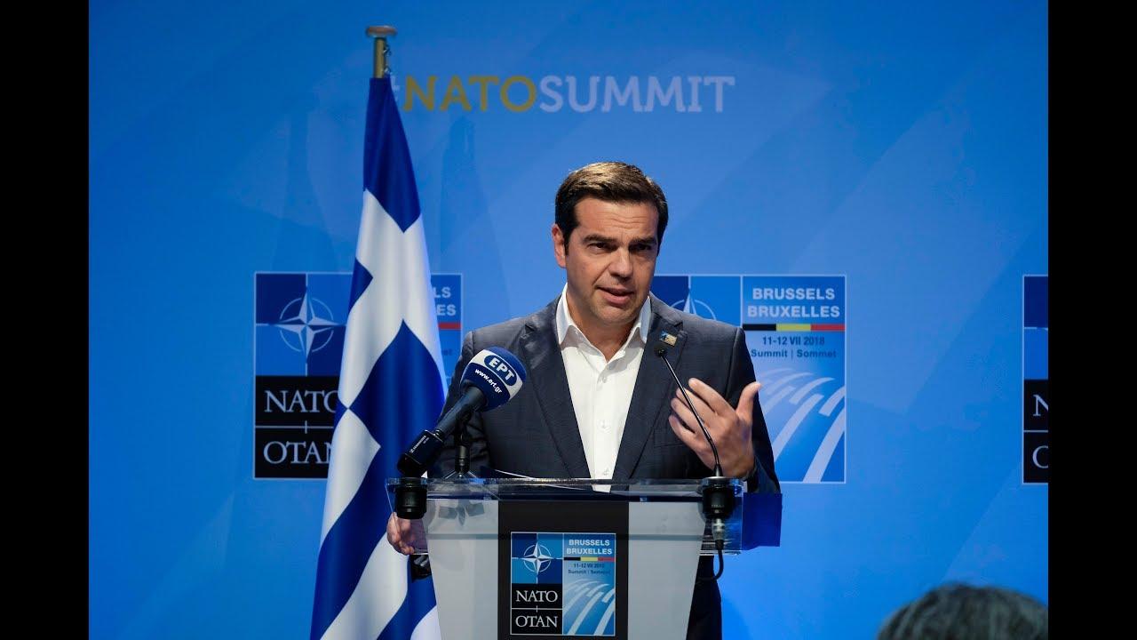 Συνέντευξη Τύπου μετά την ολοκλήρωση των εργασιών της Συνόδου του ΝΑΤΟ