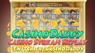 Casino slots from Live stream from 19th july with big win (casino games and Online slot) Part 1★Claim our best exclusive bonus for Casino-X using this linkhttps://www.aboutslots.com/go/casino-x/You will get 200% deposit bonus with 30x wager instead of 40x and up to 200 free spins..▬▬▬▬▬▬▬▬▬▬▬▬▬▬▬▬▬▬▬▬▬▬▬▬▬▬▬▬▬▬▬▬▬▬★Claim our best exclusive bonus for Ovo Casino using this linkhttps://www.aboutslots.com/go/ovocasinoYou will get 150% exclusive NO STICKY bonus instead of 100% also 5x max cashout on bonus insteada of 1x.▬▬▬▬▬▬▬▬▬▬▬▬▬▬▬▬▬▬▬▬▬▬▬▬▬▬▬▬▬▬▬▬▬▬★Claim our exclusive bonus for BetHard using this link https://www.aboutslots.com/go/bethardYou will get 25 free spins on Gonzo's Quest just on signup and 200% bonus up to €200 on your first deposit.▬▬▬▬▬▬▬▬▬▬▬▬▬▬▬▬▬▬▬▬▬▬▬▬▬▬▬▬▬▬▬▬▬▬★Claim our exclusive bonus for Karamba using this link https://www.aboutslots.com/go/karambaYou will get 20 free spins just on signup and 200% bonus up to €500 + 100 free spins on your first deposit.▬▬▬▬▬▬▬▬▬▬▬▬▬▬▬▬▬▬▬▬▬▬▬▬▬▬▬▬▬▬▬▬▬▬★Claim our exclusive bonus for 888 Casino using this link https://www.aboutslots.com/go/888casinoYou will get €10 free just on signup and 100% bonus up to €140 on your first deposit.▬▬▬▬▬▬▬▬▬▬▬▬▬▬▬▬▬▬▬▬▬▬▬▬▬▬▬▬▬▬▬▬▬▬★Claim our exclusive bonus for StarGames using this link https://www.aboutslots.com/go/stargamesYou will get 100% no-sticky bonus up to €100, no-sticky means if you win big in the beginning you can cash out and cancel the bonus. Stargames offers a wide range of Novomatic slots.▬▬▬▬▬▬▬▬▬▬▬▬▬▬▬▬▬▬▬▬▬▬▬▬▬▬▬▬▬▬▬▬▬▬★Support our channel and play on Thrills using this link https://www.aboutslots.com/go/thrillsYou will 10 free spins just on signup and 200% bonus up to €100 + 20 Super Spins on your first deposit.▬▬▬▬▬▬▬▬▬▬▬▬▬▬▬▬▬▬▬▬▬▬▬▬▬▬▬▬▬▬▬▬▬▬★Claim good bonus for Quasar using this link https://www.aboutslots.com/go/quasarYou will get 150% bonus up to 300€/£/$ on your first deposit using the bonus code: CASINODADDY▬▬▬▬▬▬▬▬▬▬▬▬▬▬▬▬▬▬▬▬▬▬▬▬▬▬▬▬▬▬▬▬▬▬★Claim special bonus for Lucky Dino using this link https://www.aboutslots.com/go/luckydinoYou will get 5€ free no deposit + deposit bonuses up to 400€/£/$▬▬▬▬▬▬▬▬▬▬▬▬▬▬▬▬▬▬▬▬▬▬▬▬▬▬▬▬▬▬▬▬▬▬★Claim good bonus for Super Gaminator using this linkhttps://www.aboutslots.com/go/supergaminatorYou will get 100% welcome bonus up to 250€/£/$. SuperGaminator offers a wide range of Novomatic slots.▬▬▬▬▬▬▬▬▬▬▬▬▬▬▬▬▬▬▬▬▬▬▬▬▬▬▬▬▬▬▬▬▬▬★Claim good bonus for Get lucky using this link https://www.aboutslots.com/go/getluckyYou will get €10 free on signup and 100% welcome bonus up to 200€/£/$ + 100 Free spins on your first deposit.▬▬▬▬▬▬▬▬▬▬▬▬▬▬▬▬▬▬▬▬▬▬▬▬▬▬▬▬▬▬▬▬▬▬★Claim good bonus for Casino Jefe using this link https://www.aboutslots.com/go/jefecasinoYou will get 100% welcome bonus up to 200€/£/$ + 11 Free spins on signup▬▬▬▬▬▬▬▬▬▬▬▬▬▬▬▬▬▬▬▬▬▬▬▬▬▬▬▬▬▬▬▬▬▬For more casino bonuses, slot-reviews, casino forum and casino news.Visit our website: https://www.aboutslots.comFor our swedish viewers we have made a site with the best casino offers available for Sweden.Visit our website: https://www.dincasinobonus.se▬▬▬▬▬▬▬▬▬▬▬▬▬▬▬▬▬▬▬▬▬▬▬▬▬▬▬▬▬▬▬▬▬▬Much love from CasinoDaddy!https://www.twitch.tv/casinodaddyw