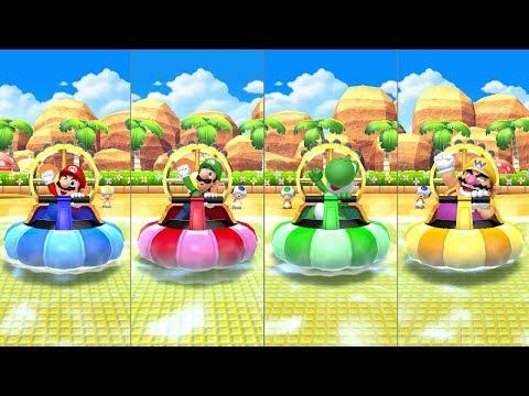 Mario Party 10 - Amiibo Party - Mario Board (видео)