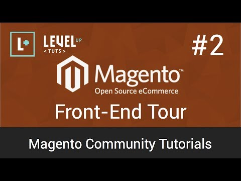 Magento Tutorial 2 : Frontend Tour (Video)