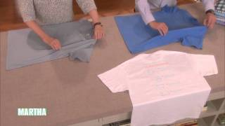 How To Fold A T-Shirt In 2 Seconds! This Is So Cool!
