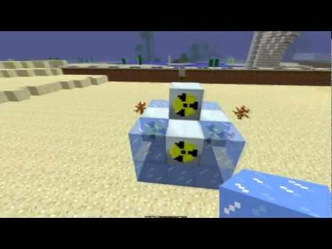 Ядерный реактор в minecraft ic2 minecraft