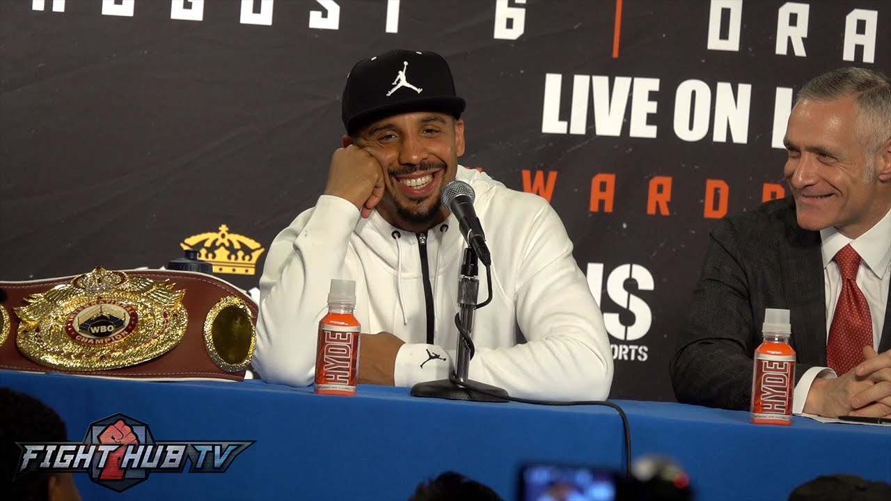 Andre Ward vs. Alexander Brand COMPLETE Post Fight Press Conference video