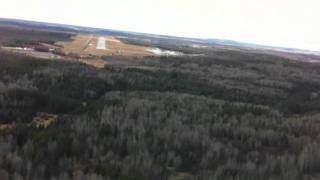 Noranda (QC) Canada  city photos gallery : Gulfstream 1 landing in Rouyn-Noranda, Qc