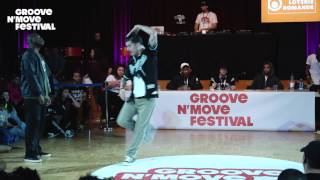 Prince vs Cruzito – GROOVE'N'MOVE BATTLE 2017 Popping 1/4 Final