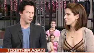 Today Show: Sandra Bullock and Keanu Reeves (2006-06-15)