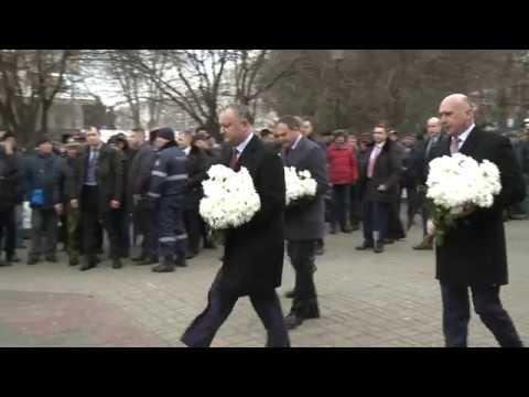 Președintele Igor Dodon a participat la ceremonia dedicată aniversării a 28-a de la retragerea trupelor sovietice din Afganistan
