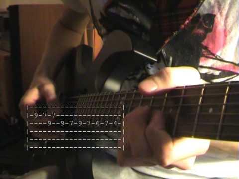 Reptilia Lesson Guitar, Tabs + Solo