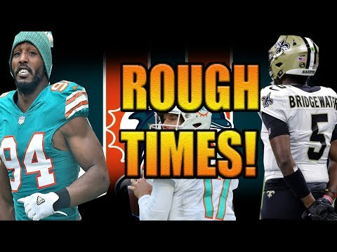 BRIDGEWATER CHOOSES BACKUP OVER DOLPHINS! WHY IS QUINN ON ROSTER? FORMER DOLPHINS ROAST TANNEHILL!
