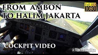 Video ( FO VIEW - Ind ) Airbus A320 Ambon to Jakarta Halim - Batik Air MP3, 3GP, MP4, WEBM, AVI, FLV November 2018