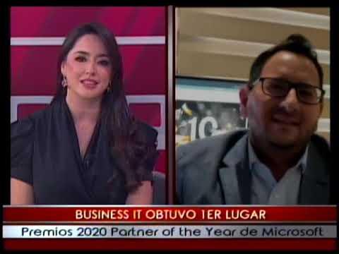 Business It obtuvo 1er lugar premios 2020 partner of the year de Microsoft