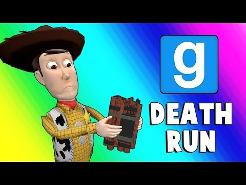 Gmod Deathrun Funny Moments - Dusty Town (Garry's Mod) (видео)