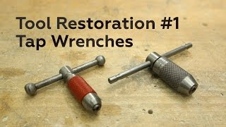 A new series for this channel: tool restorations! First out are a couple of tap wrenches which have seen better days. Follow along as we bring them back to a serviceable state again.Follow and like Switch & Lever on:Facebook: https://www.facebook.com/SwitchAndLeverInstagram: http://instagram.com/switchandleverTwitter: https://twitter.com/switchandleverPinterest: http://www.pinterest.com/switchandlever/Linkedin: http://www.linkedin.com/profile/view?id=174927629And check out the Switch & Lever online store at:http://www.switchandlever.com/store/----------------------Music:Nicolai Heidlas - Summertime (Redux)CC-BY-4.0