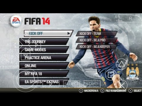(ppsspp) Fifa 2018 Updated Kit+Squad (Ps 2 Game On Android By Using Ppsspp Emulator)