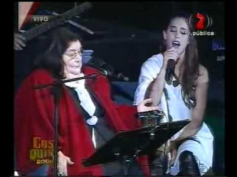 Mercedes Sosa y Soledad - Zamba para Olvidarte (Cosquin 2008)