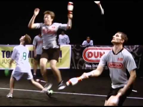 We Need More Sports With Juggling!