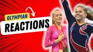 Video Olympic Champions React to MEN DOING WOMENS GYMNASTICS | Funny MP3, 3GP, MP4, WEBM, AVI, FLV Desember 2018