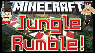 Minecraft Clay Soldiers - JUNGLE PICNIC Battle ! Clay Soldiers Subs Arena Bet Match #90!